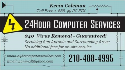 24 hour computer services service and support online and on site word of mouth is always appreciated from our satisfied customers reheart Choice Image